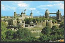 Great Britain, London, Tower And Tower Bridge, Unused - Tower Of London