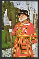 Great Britain, London, Yeoman At The Tower, Unused - Tower Of London