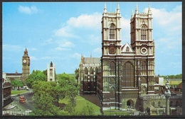 England, London, Westminister Abbey And Big Ben, Unused - Westminster Abbey