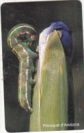 ANDORRA(chip) - Papilio Machaon, Tirage 20000, 09/00, Used - Andorra