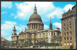 England, London, St. Paul's Cathedral, Unused - St. Paul's Cathedral