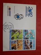 L'Argentine FDC Mondial De Voley 2002 Masculine - FDC
