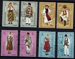 Rumänien Romana 1985 - Trachten - MiNr 4185-4192** - Kostüme