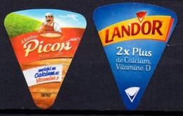 ALGERIA 065 - ETIQUETTE FROMAGE LABEL CHEESE KÄSE Queso Formaggio Kaas Portions Etiquettes Labels Käse-Etiketten - Fromage