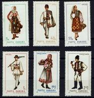 Rumänien Romana 1969 - Trachten - MiNr 2739-2744** - Kostüme