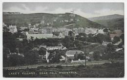 Laxey Village.  Snae Fell Mountain - Manx Camera Series - Isle Of Man