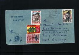 Vietnam Interesting Airmail Letter - Vietnam
