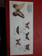 L'Argentine FDC Des Papillons - FDC