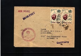 Nepal 1972 German Everest- Lhotse Expedition Interesting Airmail Letter - Nepal