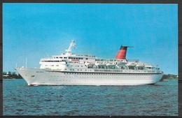 Cruise Ship, Cunard Princess, Unused - Sailing Vessels