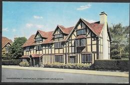 England, Strafford-Upon-Avon, Shakespeare's Birthplace, Unused - Stratford Upon Avon