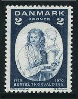 Denmark 477,MNH.Michel 506.Bertel Thorvaldsen,1768-1844,sculptor.1970. - Denmark