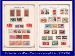 VIETNAM DU NORD Lots & Collections Yvert:Collection En Gros Album Yvert Rouge, Neufs (XX/X), Complet 1957/1976, Nomb - Vietnam