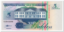 SURINAME,5 GULDEN,1998,P.136b,UNC - Surinam