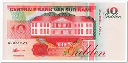 SURINAME,10 GULDEN,1998,P.137,UNC - Surinam