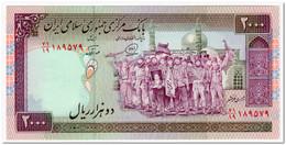 IRAN,2000 RIALS,1986,P.141j,UNC - Iran