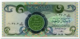 IRAQ,1 DINAR,1979-84,P.69,UNC - Iraq