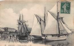 CPA AJACCIO - Voiliers Au Port - Ajaccio