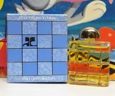 Miniature Prix De Depart 1 Euro COURREGES IN BLE  AVEC BOITE - Miniatures Womens' Fragrances (in Box)