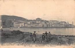 CPA Corse - ILE ROUSSE - Vue Générale - Francia