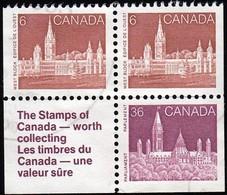 Canada - Scott #942-948 Parliament / Used Stamp - 1952-.... Reign Of Elizabeth II