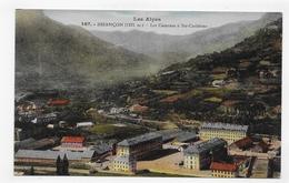 (RECTO / VERSO) BRIANCON EN 1939 - N° 167 - LES CASERNES A SAINTE CATHERINE - CPA VOYAGEE - Briancon