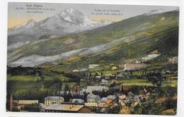 (RECTO / VERSO) BRIANCON EN 1939 - N° 167 Bis - SAINTE CATHERINE ET VALLEE DE LA GUISANE - CPA VOYAGEE - Briancon