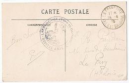 TARN ET GARONNE CP 1915 LAFRANCAISE HOPITAL ANNEXE LAFRANCAISE - Marcophilie (Lettres)
