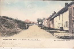 Doische (Front. Belge) - Le Quartier Chemin De La Gare - Carte Colroisée - Edit. Bernard Hurel, Doische/Marcovici - Doische