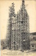 CATHEDRALE D'ANGERS - échafaudages Modernes à Echelles -Gratien Et Cie - Angers