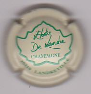 Capsule Champagne DE LANDRE Elodie ( 2 ; Crème Et Vert Landreville ) 4€ {42-18} - Champagne