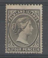 """FALKLAND:  N°6 NSG ( Variété """"filig. Décalé, Que La Couronne"""")       - Cote 175€ - - Falkland"""