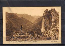 3425 . ENVIRONS DE LODEVE . PANORAMA DE L ESCALETTE . ANNEE  1924 - Lodeve