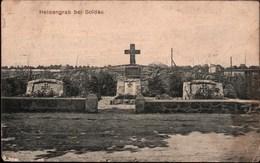 ! Alte Ansichtskarte, Soldau, Heldengrab, 1915 - Polen