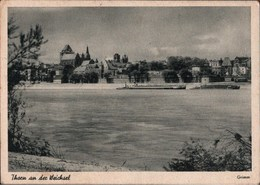 ! Alte Ansichtskarte, Thorn An Der Weichsel, 1944 - Polonia