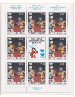 Yugoslavia 1988 Seoul Olympic Games Souvenir Sheet MNH/** (M9) - Sommer 1988: Seoul