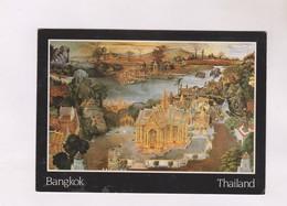 CPM THAILANDE BANGKOK,PEINTURE MURALE (voir Timbre) - Thaïlande