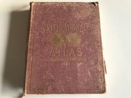 BEATSON'S International Atlas - Columbian World's Fair Edition - 1893 - Exploration/Travel