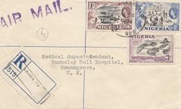 Nigeria: 1954 Registered Lagos To Bromsgrove/UK - Nigeria (1961-...)
