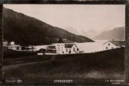 ! Old Postcard, Ansichtskarte, Lyngseidet. Lyngen, Tromsö, Norwegen, Norge, Norway, Norvege - Noruega