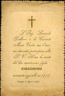 14 TROPEA -1913 , L'ING. L. DULBECCO E LA CONSORTE CON L'ANIMO STRAZIATO .. - Avvisi Di Necrologio