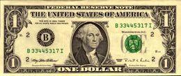 ETATS-UNIS 1 DOLLAR De 1995   B2 NEW YORK  Pick 496  AU/SPL - Federal Reserve Notes (1928-...)