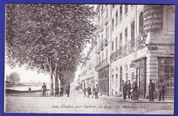 CHALON SUR SAONE Quai Des Messageries Animés 1916 (Trés Très Bon état) --944 ) - Chalon Sur Saone