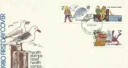 New Zealand 1980 Health FDC - FDC