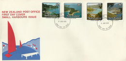 New Zealand 1979 Small Harbours FDC - FDC