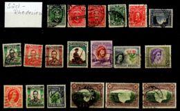 Süd-Rhodesien - Kleine Sammlung Ab Nr. 1 Gem. Scan, Gestempelt;  Los 50147 - Collections (sans Albums)