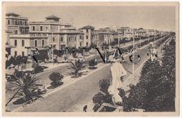 RM112 !!! LIDO DI ROMA VIALE DELLA MARINA 1946 F.P. !!! - Italia
