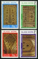 Pakistan 1984 Stamps Handicrafts Series Glass Work Lahore Fort - Pakistan