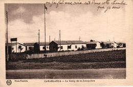 MAROC - CASABLANCA - LE CAMP DE LA JONQUIERE - Casablanca