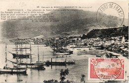 CARTE MAXIMUM SAINT PIERRE AVANT LA CATSTROPHE - Martinique (1886-1947)